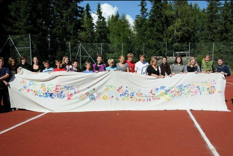 Peace One Day Banner von CISV